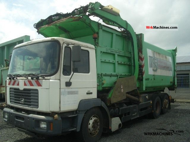 2000 MAN NG 263 Truck over 7.5t Refuse truck photo