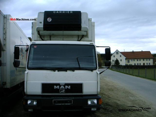 2001 MAN L 2000 10.163 LC Truck over 7.5t Refrigerator body photo