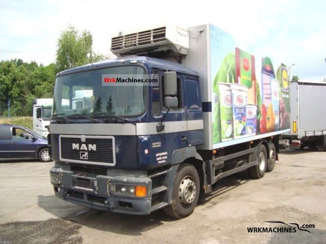1997 MAN F 2000 26.403 Truck over 7.5t Refrigerator body photo