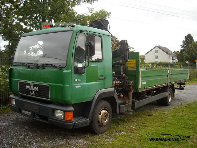 1998 MAN L 2000 10.163 Truck over 7.5t Stake body photo