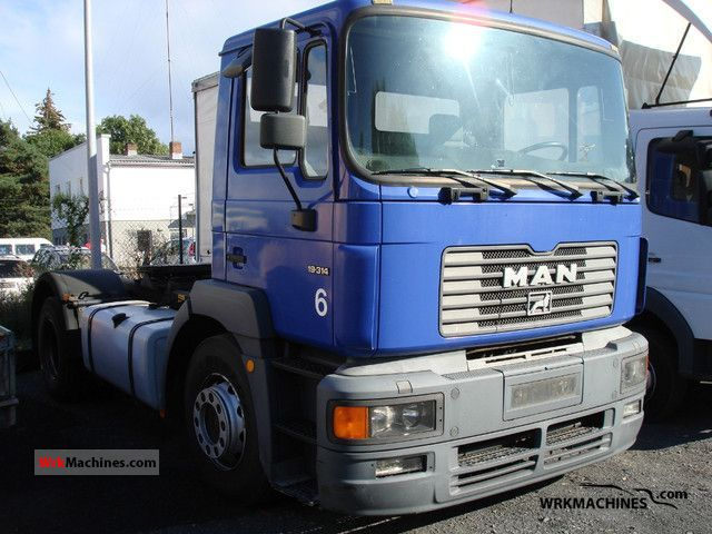 1999 MAN F 2000 19.314 Semi-trailer truck Standard tractor/trailer unit photo