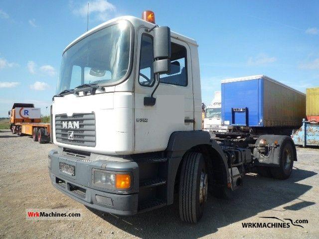 2000 MAN F 2000 19.314 Semi-trailer truck Standard tractor/trailer unit photo