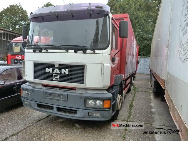 1997 MAN F 2000 26.403 Truck over 7.5t Box photo