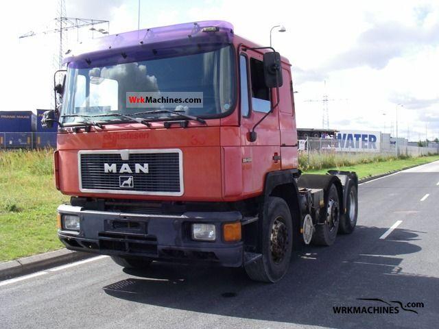 1994 MAN F 2000 26.403 Semi-trailer truck Heavy load photo