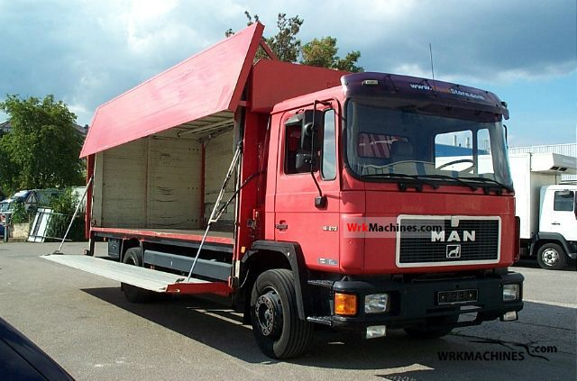 1995 MAN M 90 18.272 Van or truck up to 7.5t Beverages van photo