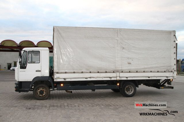 2005 MAN TGL 8.180 Van or truck up to 7.5t Stake body and tarpaulin photo