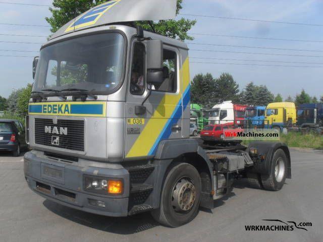 1998 MAN F 2000 19.343 Semi-trailer truck Standard tractor/trailer unit photo
