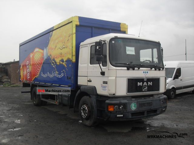 1997 MAN F 2000 19.293 Truck over 7.5t Box photo