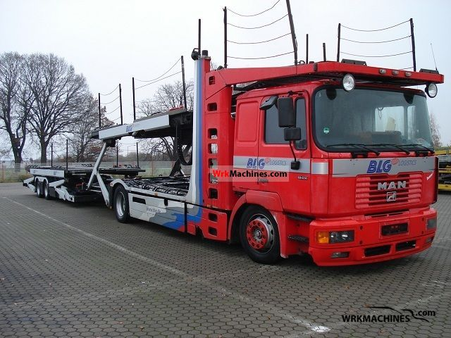 1999 MAN F 2000 19.414 Truck over 7.5t Car carrier photo