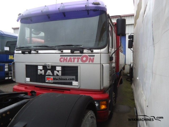 1998 MAN F 2000 19.343 Truck over 7.5t Stake body photo
