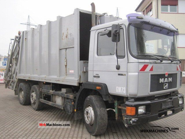 1995 MAN F 90 26.272 Truck over 7.5t Refuse truck photo
