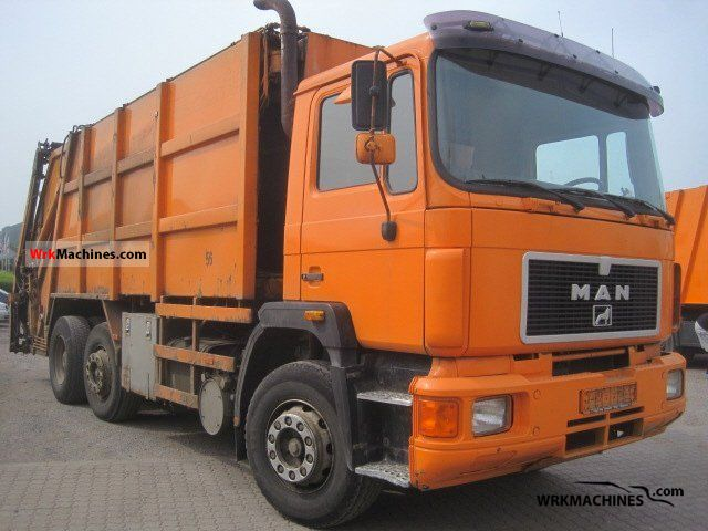 1994 MAN F 90 26.322 Van or truck up to 7.5t Refuse truck photo
