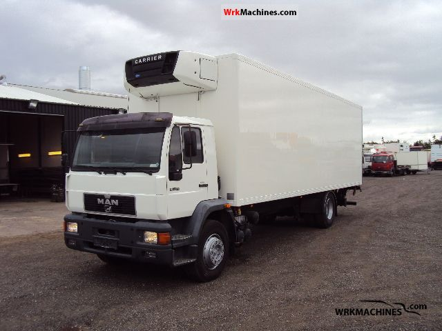 1999 MAN M 2000 L 18.224 Truck over 7.5t Refrigerator body photo