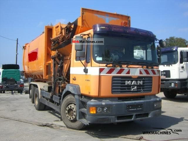 2001 MAN TGA 26.360 Truck over 7.5t Refuse truck photo