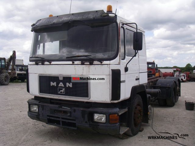 1994 MAN F 90 24.372 Truck over 7.5t Chassis photo