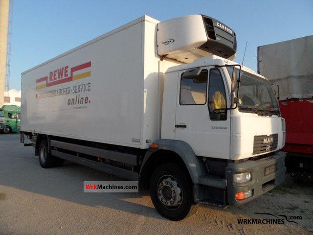 2002 MAN M 2000 L 250 Truck over 7.5t Refrigerator body photo