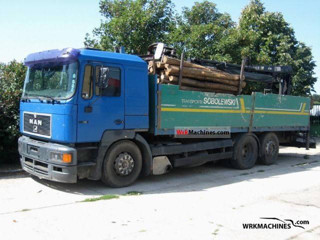 1995 MAN F 2000 26.403 Truck over 7.5t Truck-mounted crane photo
