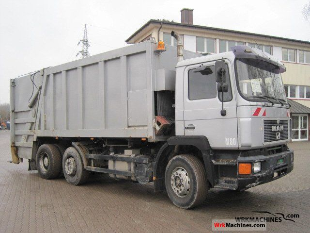 1996 MAN F 90 26.342 Truck over 7.5t Refuse truck photo
