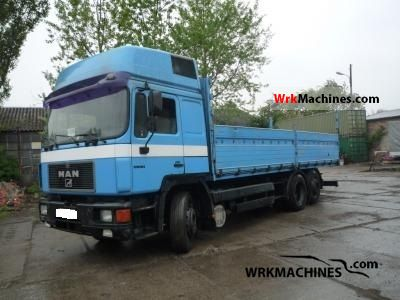 1993 MAN LION´S STAR 422 Truck over 7.5t Stake body photo