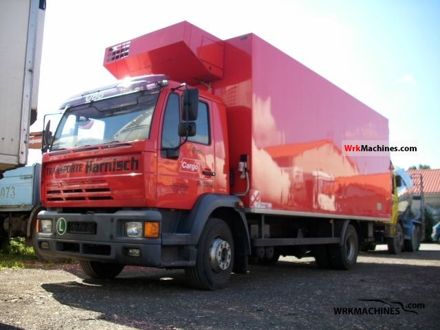 1999 MAN M 2000 L 15.224 Truck over 7.5t Refrigerator body photo