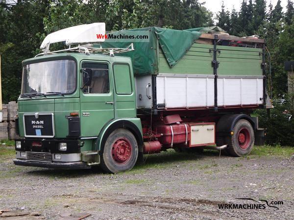 1986 MAN SR 321 Truck over 7.5t Tipper photo