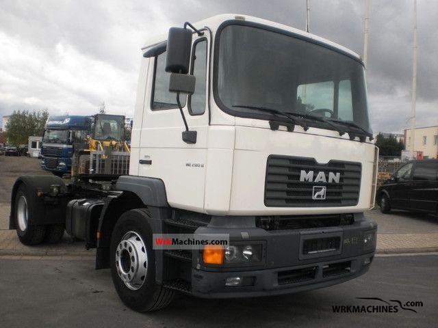 2001 MAN M 2000 L 280 Semi-trailer truck Standard tractor/trailer unit photo