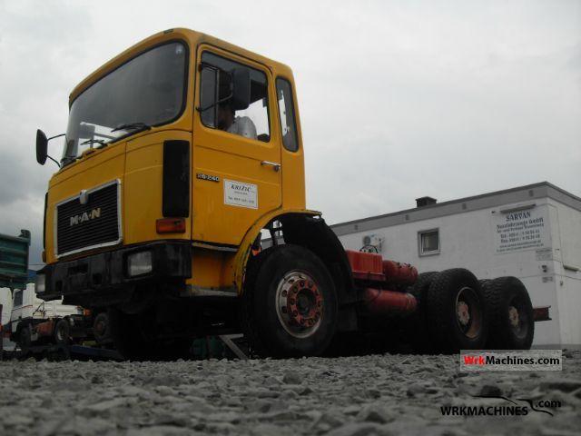 1983 MAN SG 240 Truck over 7.5t Tipper photo