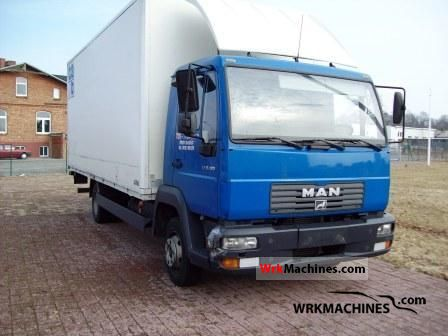 2005 MAN TGL 8.180 Van or truck up to 7.5t Box photo