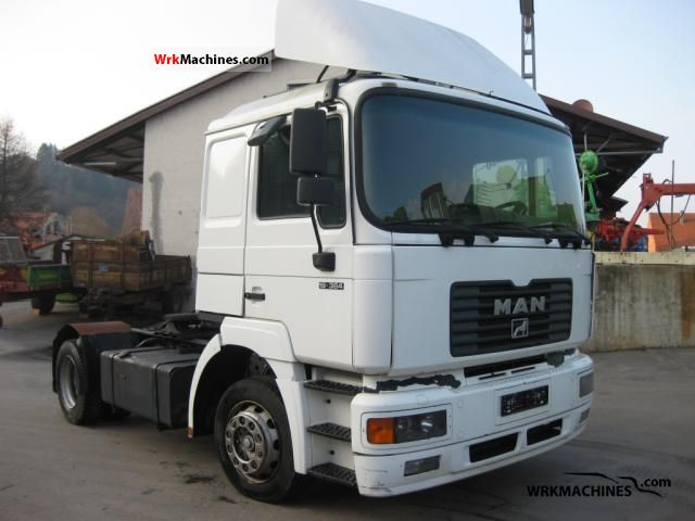 2000 MAN F 2000 19.364 Semi-trailer truck Standard tractor/trailer unit photo