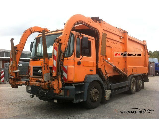 1998 MAN F 2000 26.293 Truck over 7.5t Refuse truck photo