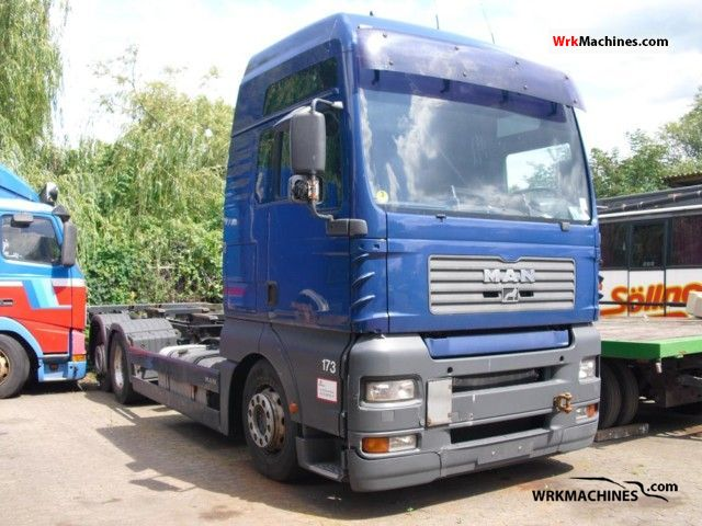 2004 MAN TGA 26.390 Truck over 7.5t Swap chassis photo