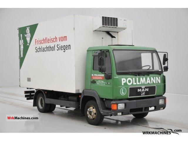 1998 MAN L 2000 9.163 Truck over 7.5t Refrigerator body photo