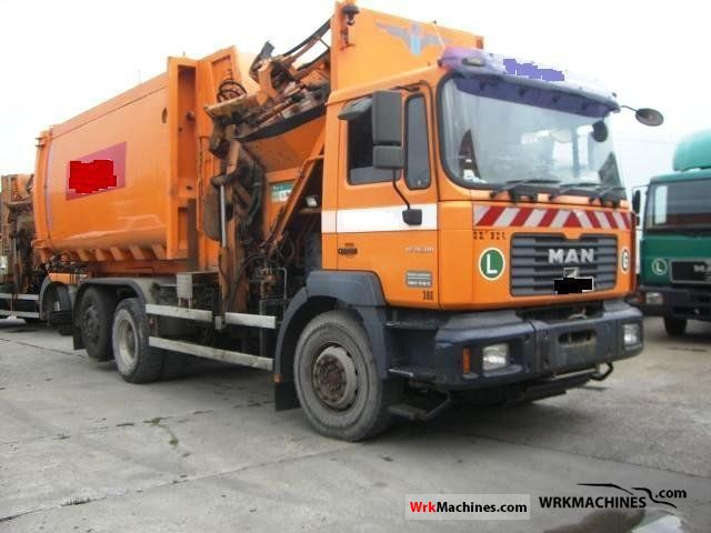 2003 MAN TGA 26.310 Truck over 7.5t Refuse truck photo
