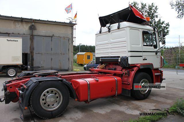 1995 MAN F 90 19.272 Semi-trailer truck Standard tractor/trailer unit photo