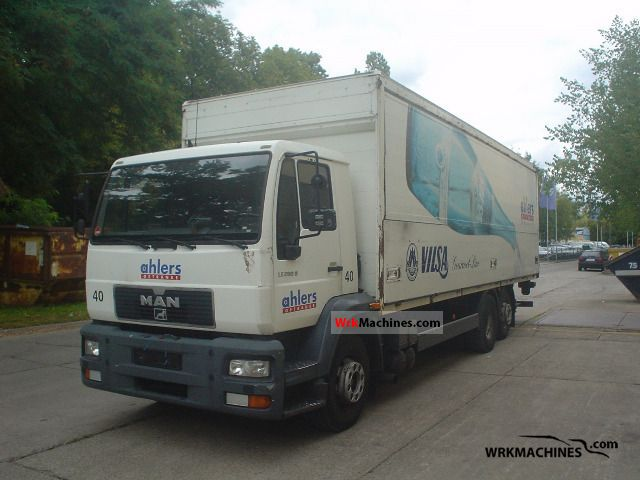 2001 MAN M 2000 L 280 Truck over 7.5t Beverage photo