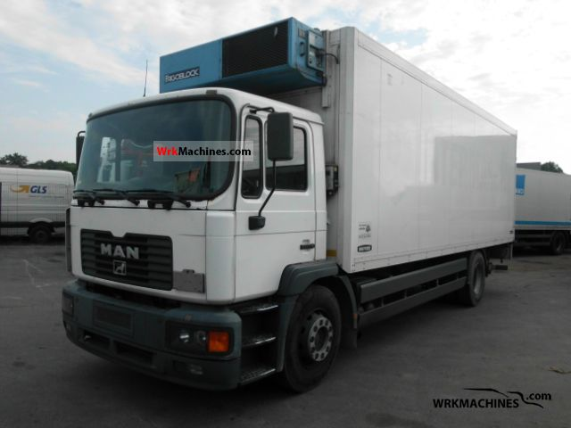 2001 MAN M 2000 L 280 Truck over 7.5t Refrigerator body photo