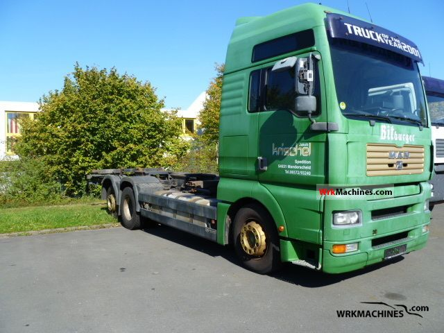 2001 MAN TGA 26.410 Truck over 7.5t Swap chassis photo