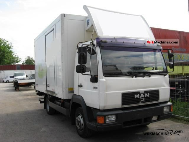 2000 MAN L 2000 9.163 Truck over 7.5t Refrigerator body photo
