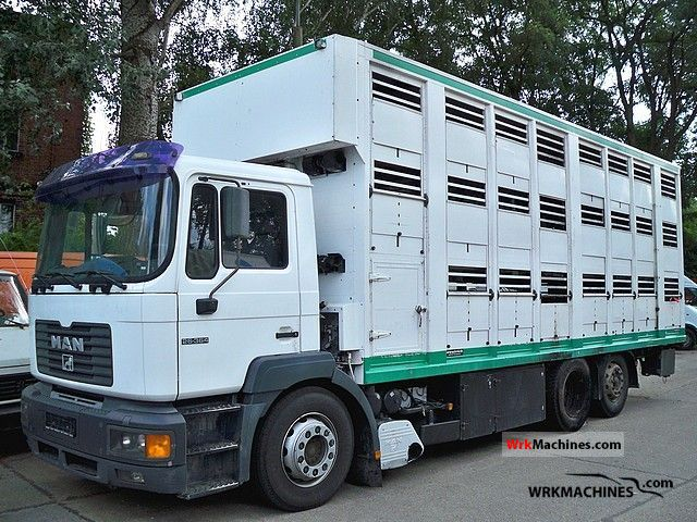 1999 MAN NG 263 Truck over 7.5t Horses photo