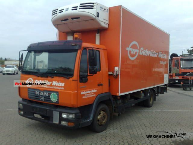 2001 MAN M 2000 L 12.224 LLC Truck over 7.5t Refrigerator body photo
