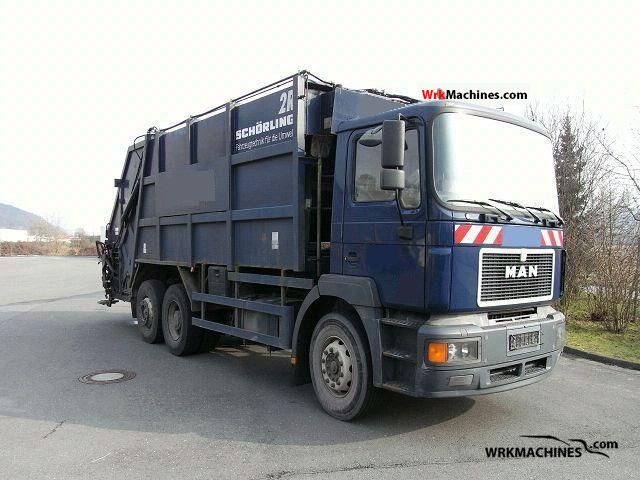1997 MAN EL 262 Truck over 7.5t Refuse truck photo