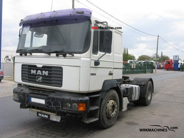 1999 MAN F 2000 19.364 Semi-trailer truck Other semi-trailer trucks photo