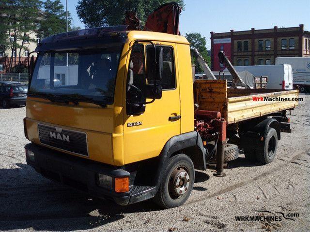 1994 MAN L 2000 10.224 Truck over 7.5t Tipper photo