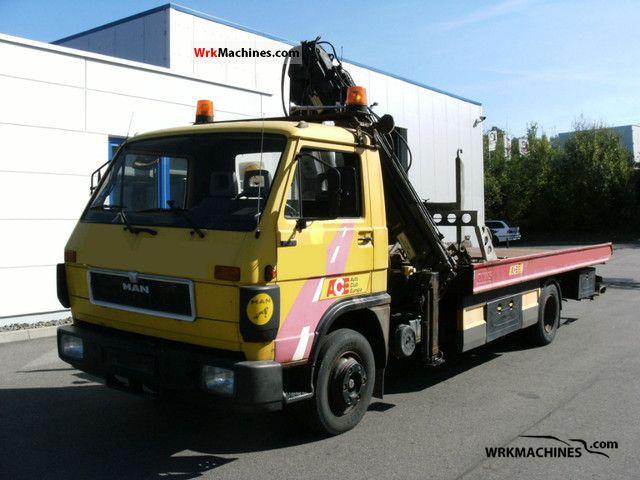 1991 MAN G 90 10.150 Van or truck up to 7.5t Breakdown truck photo