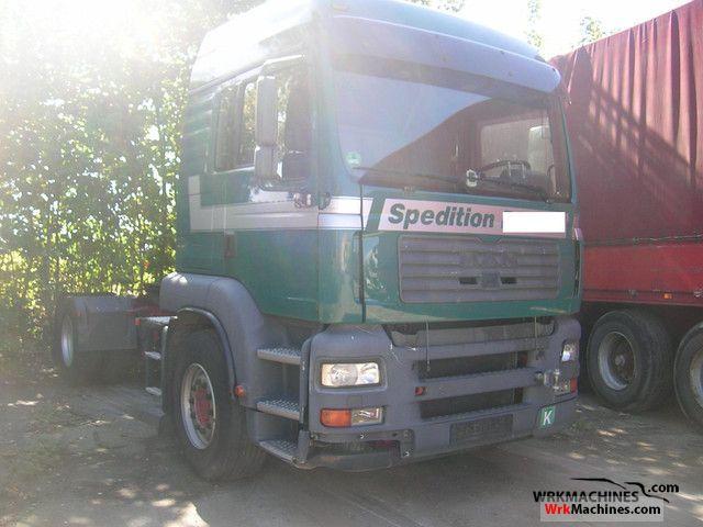 2005 MAN TGA 18.430 Semi-trailer truck Hazardous load photo