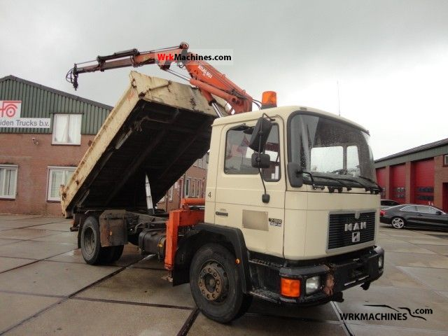 1993 MAN EM 192 Truck over 7.5t Tipper photo