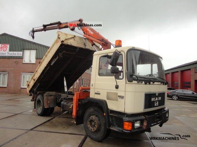 1993 MAN EM 192 Truck over 7.5t Tipper photo
