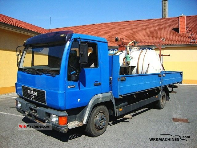 1994 MAN L 2000 10.153 Truck over 7.5t Vacuum and pressure vehicle photo