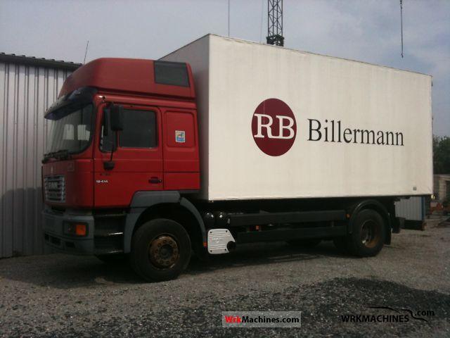 2000 MAN F 2000 19.414 Truck over 7.5t Box photo