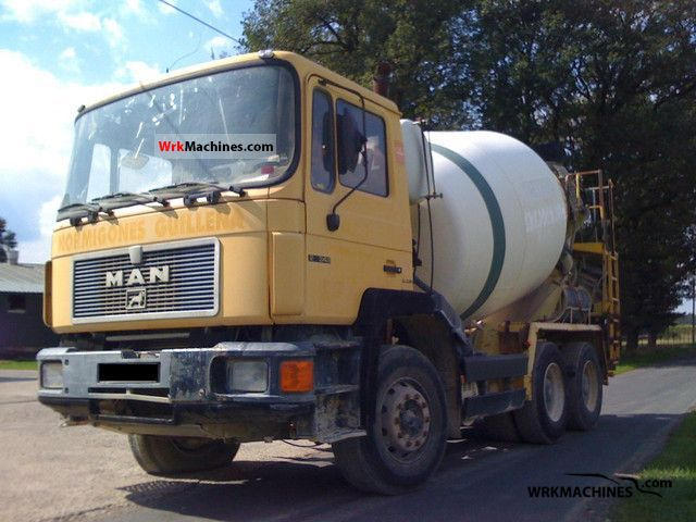 1996 MAN F 90 26.342 Truck over 7.5t Cement mixer photo